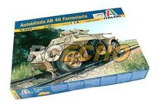 ITALERI Military Model 1/35 Autoblinda AB 40 Ferroviaria Scale Hobby 6456 T6456