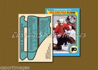 Robbie Moore - Philadelphia Flyers - Custom Hockey Card  - 1978-79