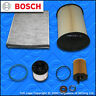 SERVICE KIT FORD FOCUS MK3 1.5 TDCI BOSCH OIL AIR FUEL CABIN FILTERS (2014-2018)