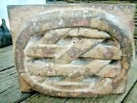 Original Old Hand Carved Heavy 2 Kg Architectural Jodhpurs Stone Wall decorate