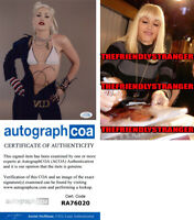 GWEN STEFANI signed Autographed 8X10 PHOTO - PROOF - Hot SEXY No Doubt ACOA COA