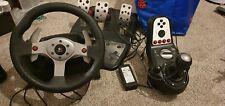 Logitech G25 Steering Wheel, Pedals And Gear Shift