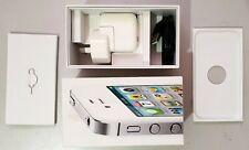 Apple iPhone 4S Smartphone Mobile Phone + Box & Accessories - Unlocked - Working