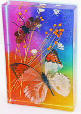 Butterfly in Resin Paperweight / Window Decoration