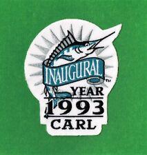 """FLORIDA MARLINS 1993 """"CARL"""" INAUGURAL SEASON PATCH"""