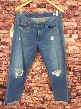 Rag&Bone Moss With Holes Boyfriend Jeans Size 31