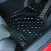 Mercedes C Class 2014+ Fully Tailored 4 Piece Rubber Car Mat Set with 4 Clips