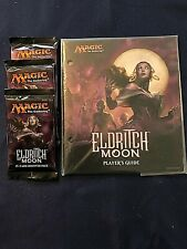 Magic The Gathering: 3 Eldritch Moon Boosters plus Player's Guide (English) MTG