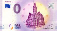 SLOVAQUIE Košice, Cathédrale Sainte-Elisabeth, 2018, Billet 0 € Souvenir