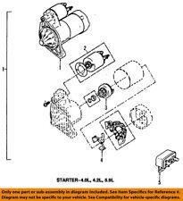 CHRYSLER OEM-Starter Motor 56041014AB