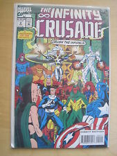 The INFINITY CRUSADE 2 by STARLIN, LIM & MILGROM. UPCOMING MOVIE. MARVEL.1993