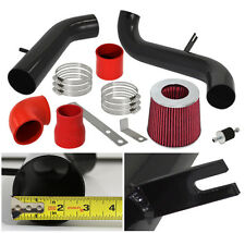 00-05 Galant Eclipse L4 2.4L Jdm Cold Air Intake Induction System Pipe Black