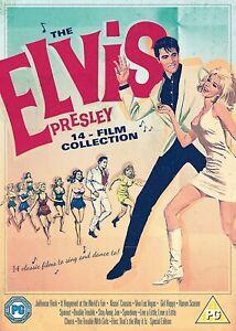 The ELVIS PRESLEY 14 FILM COLLECTION DVD BOXSET 14 DISCS Region 4 NEW & SEALED