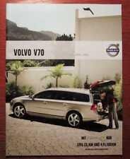 VOLVO V70 - Original Katalog (2009)