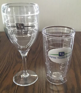 Fifth Third Bank Tervis Wine Tumbler With 16oz Tumbler