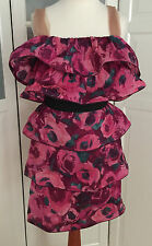 Original LANVIN h&m robe soie dress silk taille 40 ou 42 US 10 or 12 UK 14 Or 16