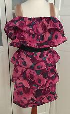 Original Lanvin H&M Kleid Seide dress silk Gr.40 oder 42 US 10 or 12 UK 14 or 16