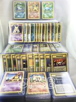 COMPLETE BASE SET POKEMON CARDS 102/102 - CHARIZARD INCLUDED ~ EXC/NEAR MINT ~