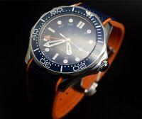 Parnis  Ceramic 007 Seamaster Homage Automatic Diver Sport men's Watch
