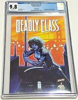 Deadly Class #1 CBLDF Nic Klein Variant CGC 9.8 NM/MT Image 2013 Remender Craig