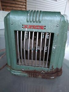ANTIQUE ARVIN ELECTRIC SPACE HEATER FAN Art Deco, Model 102 Tested Working