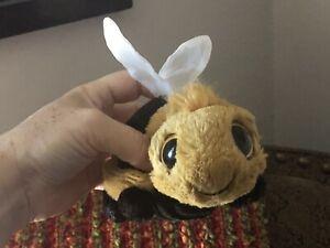 "Jellycat 6"" Frizzles Bumblebee Plush Stuffed Animal"