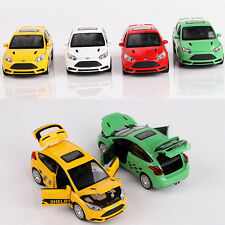 1x New 1:32 Ford Focus ST Alloy Diecast Car Model Toy With Sound & Light