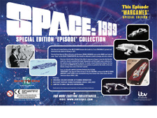 More details for sixteen12 -  space 1999 - the wargames special edition (hawk spaceship) bnib