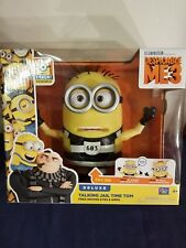 Despicable Me 3 Deluxe Jail Time Tom Free Moving Talking Figure Think Way Toys