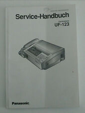 Panasonic Service Handbuch Manual für UF-123 - Fernkopierer