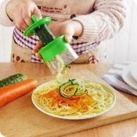 Küchen-Gemüsespiralschneider-Obstschneider Peeler Spiralizer Twister-Werkze A8Q5