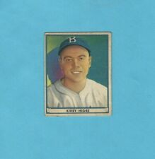 1941 Play Ball (R336) #52 Kirby Higbe Brooklyn Dodgers Baseball Card