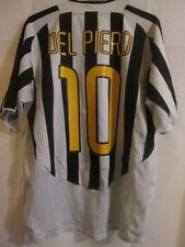 "Juventus 2003-2004 Del Piero Home Football Shirt Size Large 42""-44""  /33120"