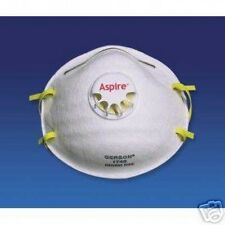 10 BOXES GERSON 1740 N95 RESPIRATOR WITH VALVE - BOX OF 10 MASK - 1 CASE