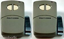 4120 2PACK Linear Multi-Code 2-Button Remote multicode MCS412001 300mh 3089 1090