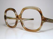 NIP 60-70s Sun/ Eyeglasses Frame A/O American Optical MAGNIFQUE 164-58 Mint Brn