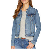 Levi's Women's Original Trucker Denim Jacket In Chronicles Mid Blue