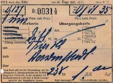 ANTIGUO BILLETE DRG von 1935 para 1,00rm (agk1651)