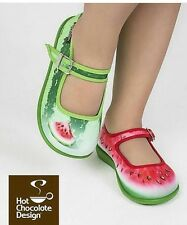 Hot Chocolates Shoes, Watermelon Size Us 7