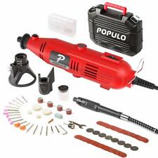 ELECTRIC DIE GRINDER ROTARY TOOL w FLEX SHAFT, WORKS WITH ALL DREMEL BITS