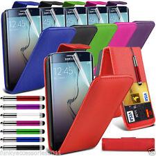 Étuis, housses et coques etuis portefeuilles simples Samsung Galaxy S6 edge pour téléphone mobile et assistant personnel (PDA)