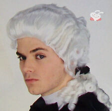 BRAND NEW colonial / judge wig - white /Halloween/party