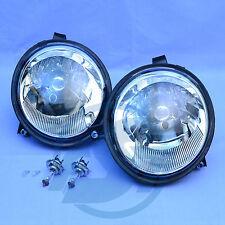 2x Scheinwerfer VW Lupo mit Leuchtmittel links + rechts Set Klarglas 1998-2005