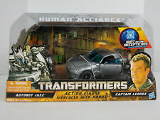 Transformers HFTD - Human Alliance: Autobot Jazz with Captain Lennox MISB