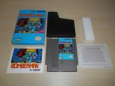 Bomberman Complete Nintendo NES Game CIB Original