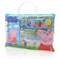 Peppa Pig Toys, Activity Travel Set Includes Carry Along Book Bag, Stickers,