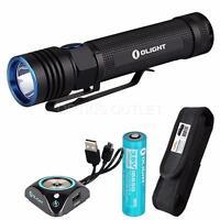Olight S30R Baton III 1050 Lumen LED Flashlight w/ Battery, USB Dock & Holster