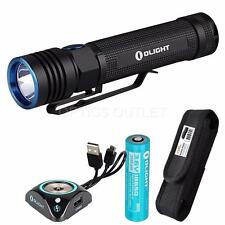 Olight S30R Baton III 1050 Lumen LED Flashlight w/ Battery, USB Dock & Holster