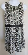 NEW Mossimo Lightweight Breezy Sleeveless Print Dress Ladies Jr Sz XL Snow White