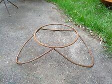 d=35cm Ständer für Feuerschale Pflanzschale,Gartendeko Metall Rost,Gartendeko,